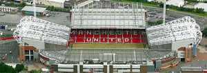 aerial view of old trafford stadium tours